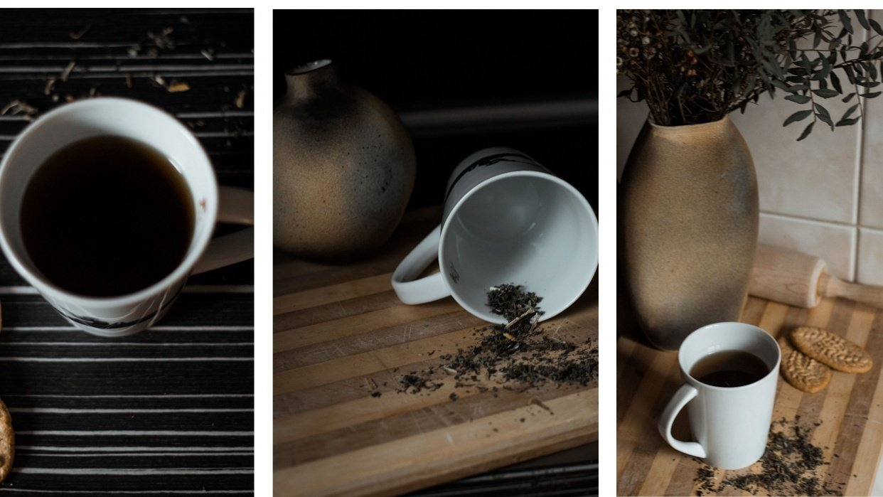 tea and biscuits - student project