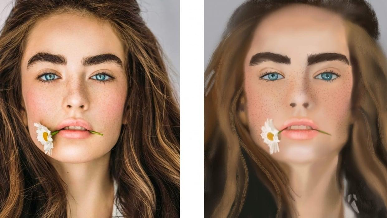 Procreate Portrait - student project