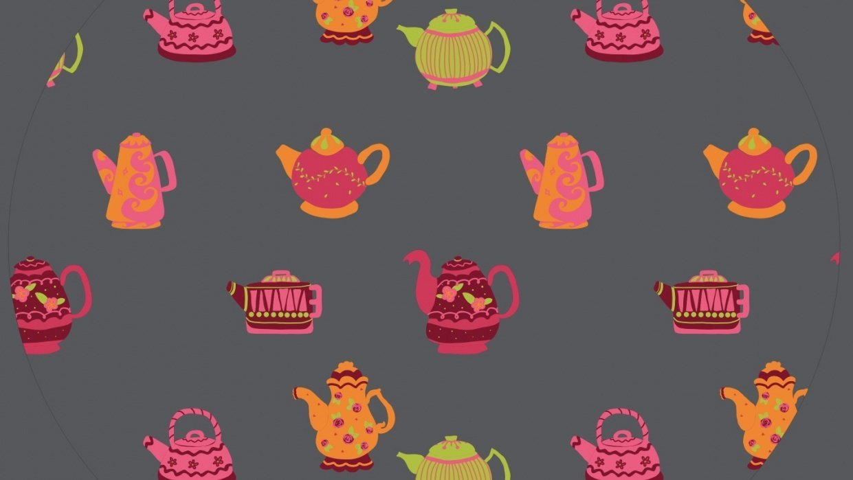 Tiny Teapots... no background yet - student project