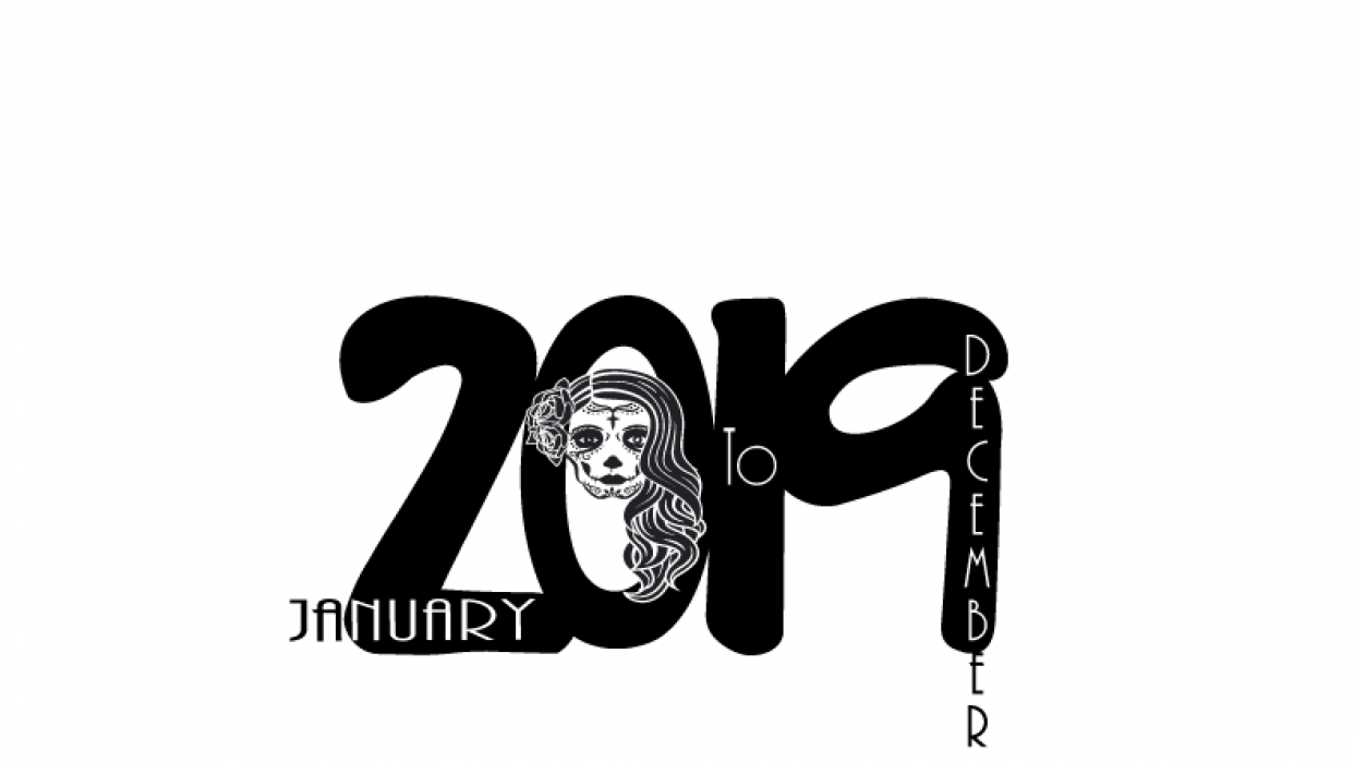 2019 Calendar Cover - student project