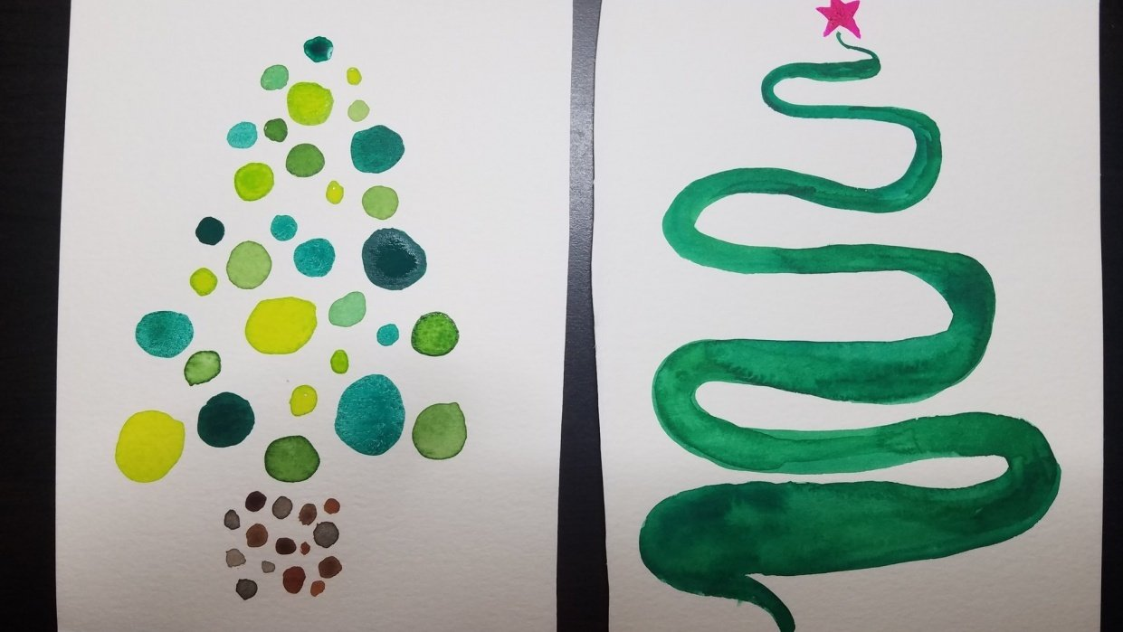 Oh, Christmas tree - student project