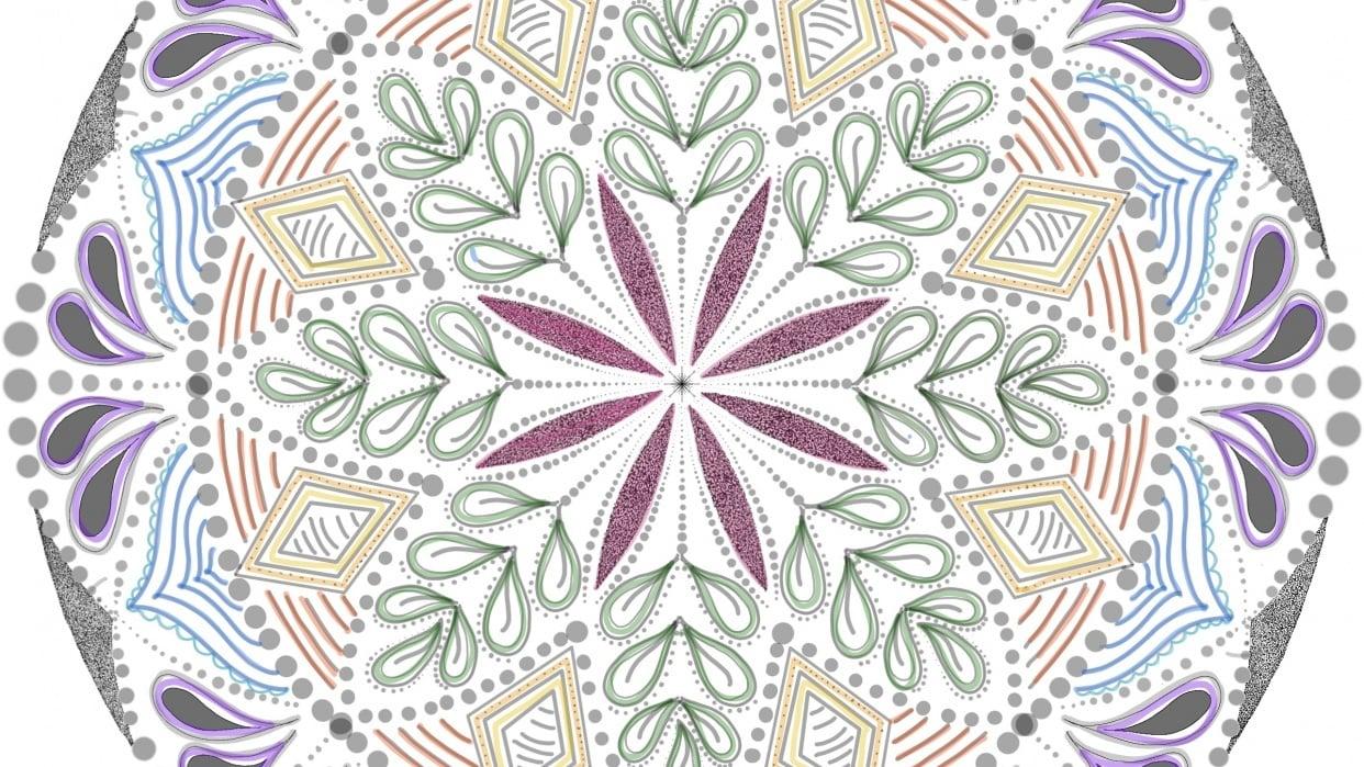 First Mandala! - student project