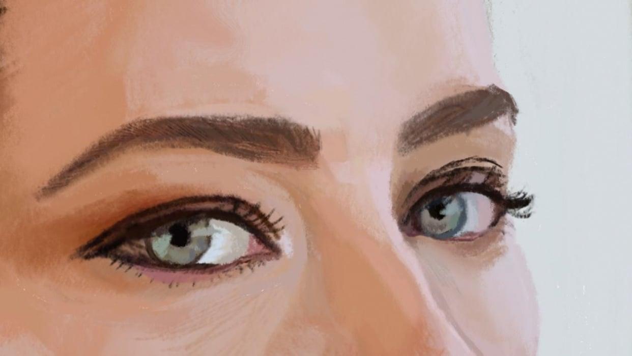 My Portrait Practice - student project