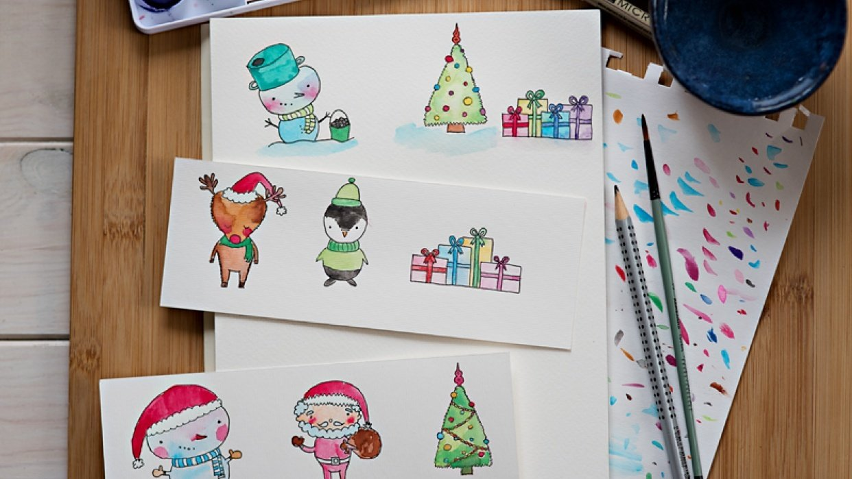 Christmas cuties :) - student project