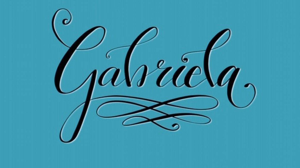 Gabriela - student project