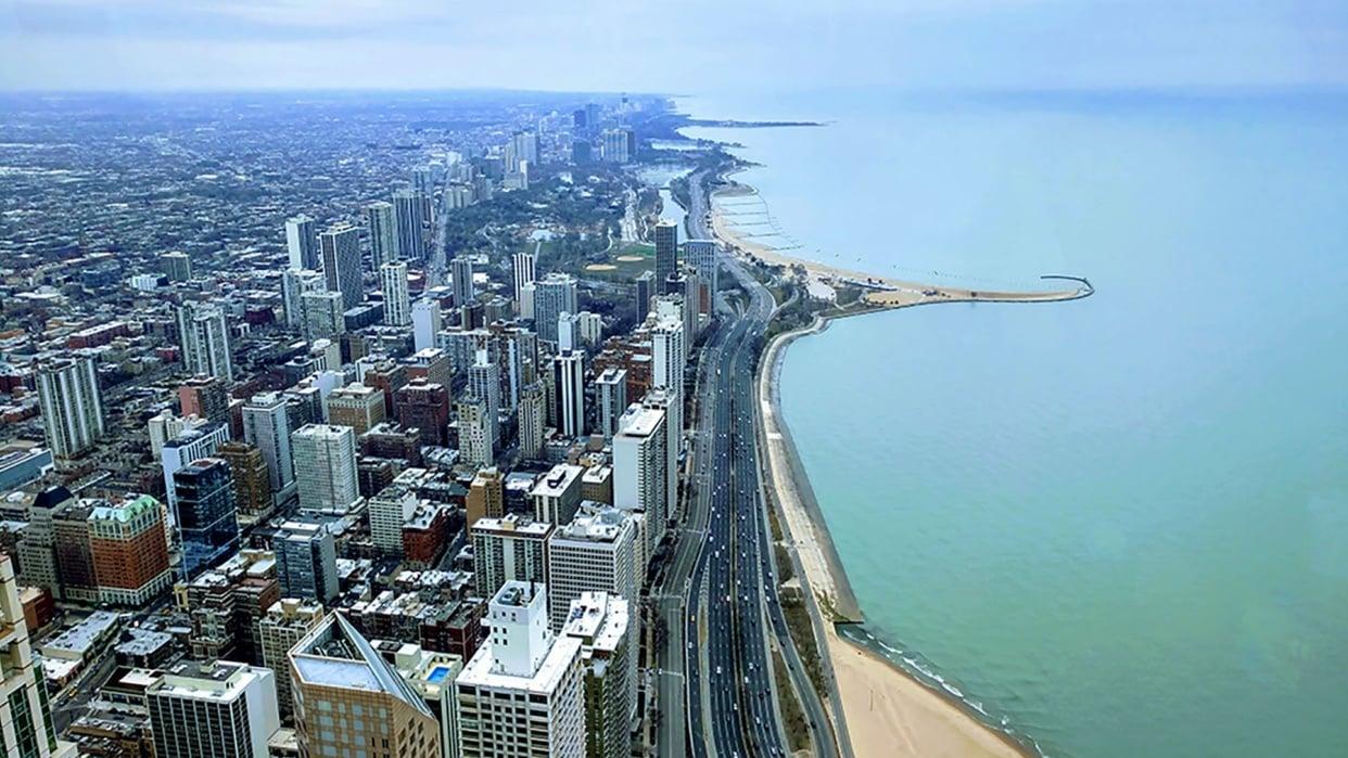 Chicago Shoreline - student project