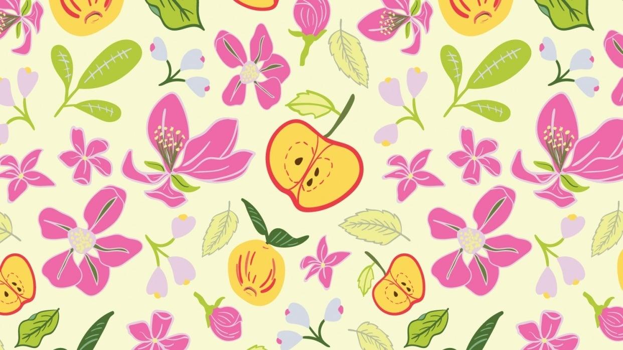 Apple Garden - student project