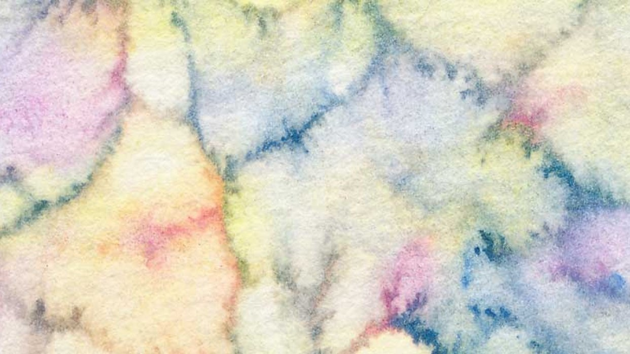 Watercolour textures. - student project