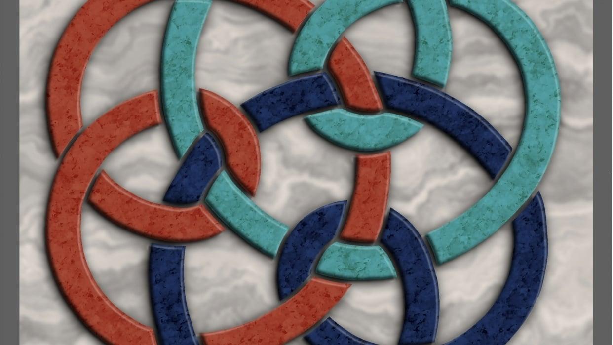 3D Celtic Knot - student project