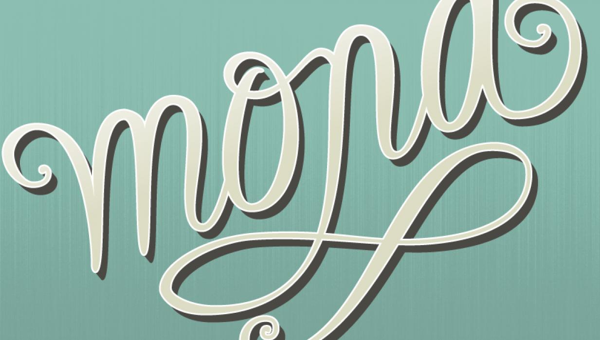 Handwriting Mona - student project
