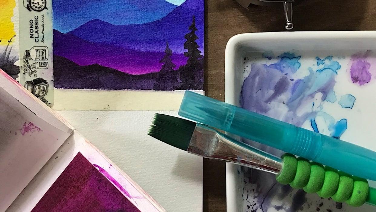Vibrant Landscapes - student project