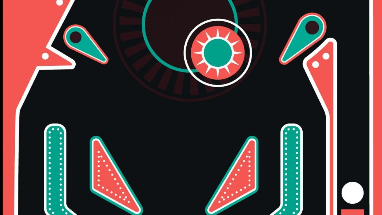 Pinball Motion Graphics - student project