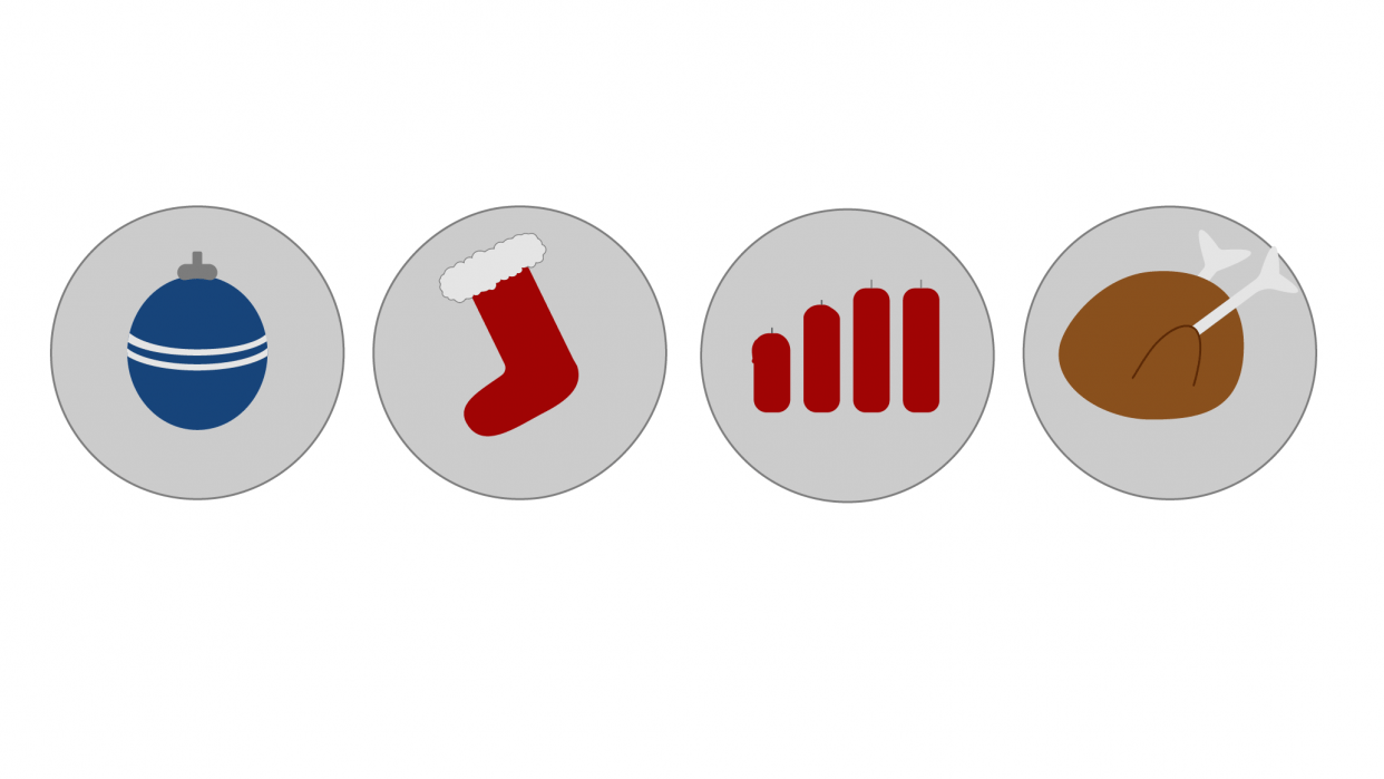 Christmas Icons - student project