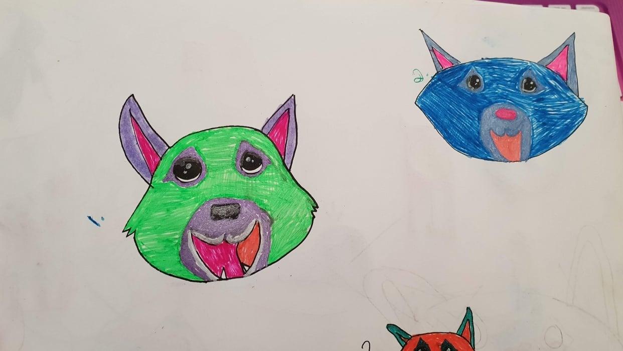 Stylizing my Dog - student project