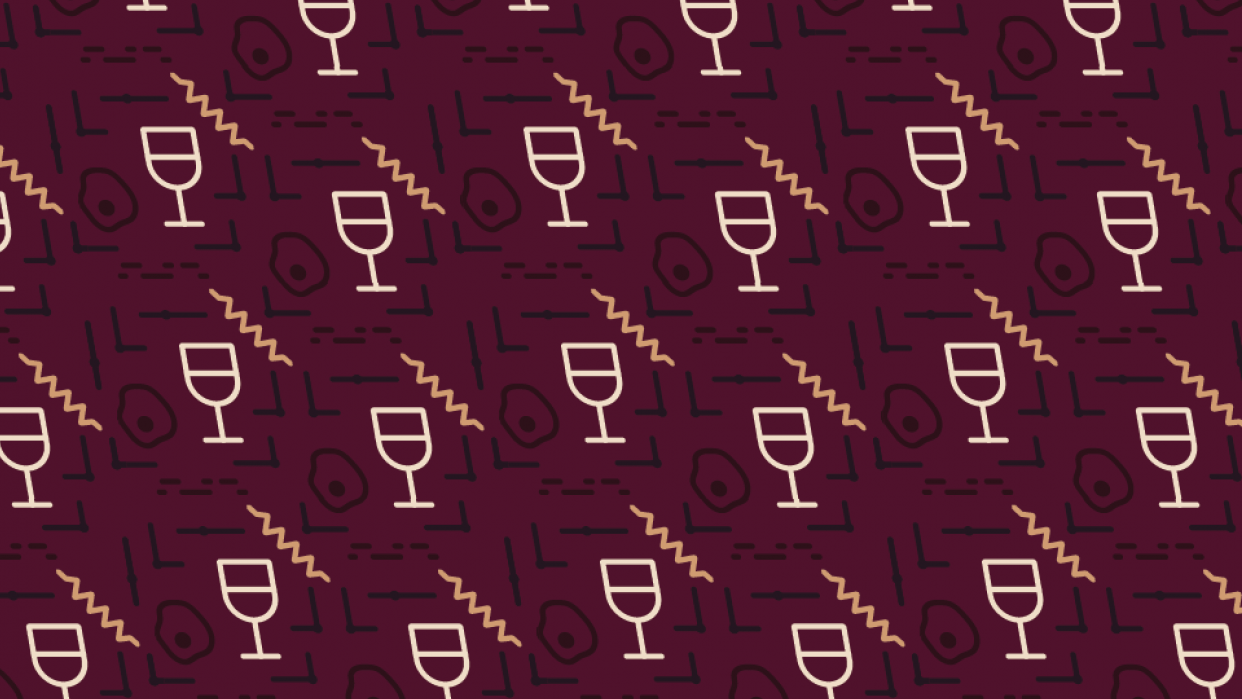 Never too early for a glass of wine - student project