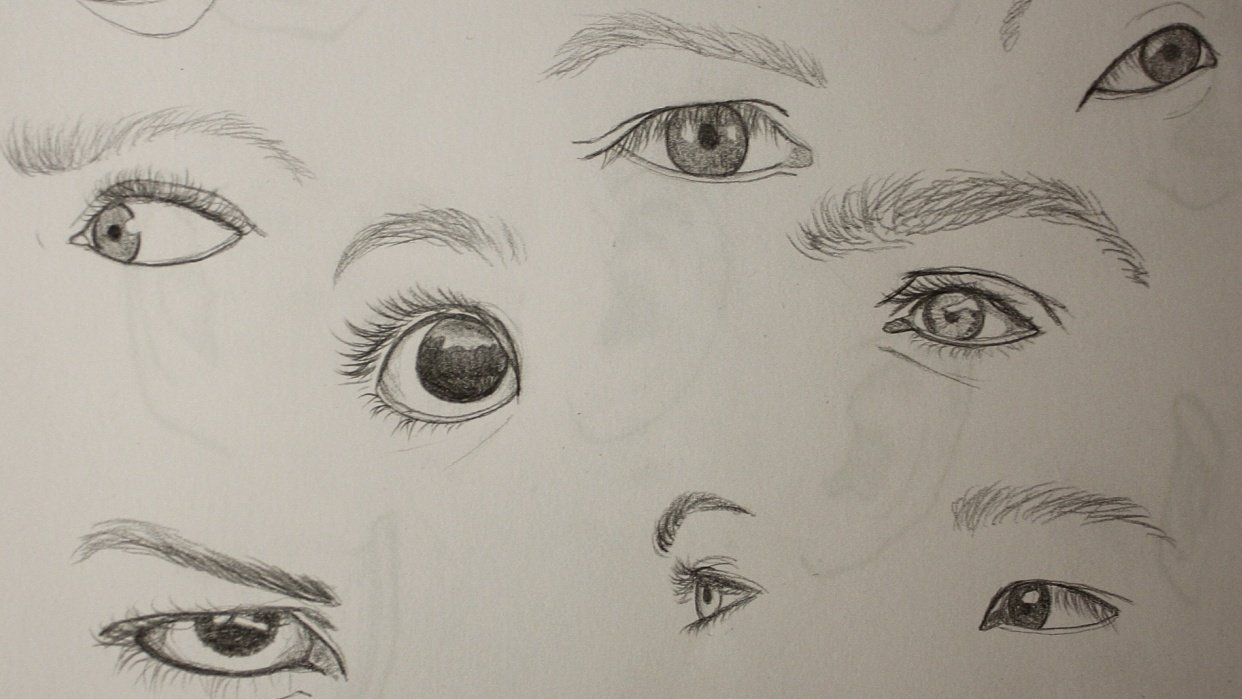 Features of the face - student project