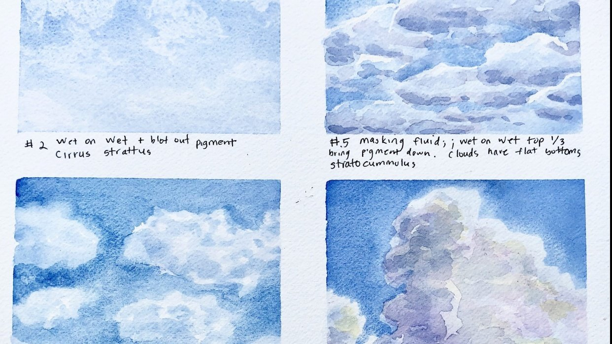 Clouds, clouds and more clouds! - student project