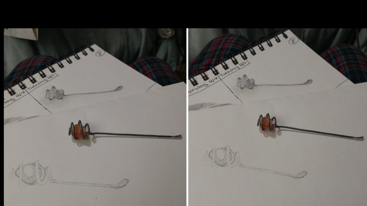 First 3 Minute Draw Attempts - student project