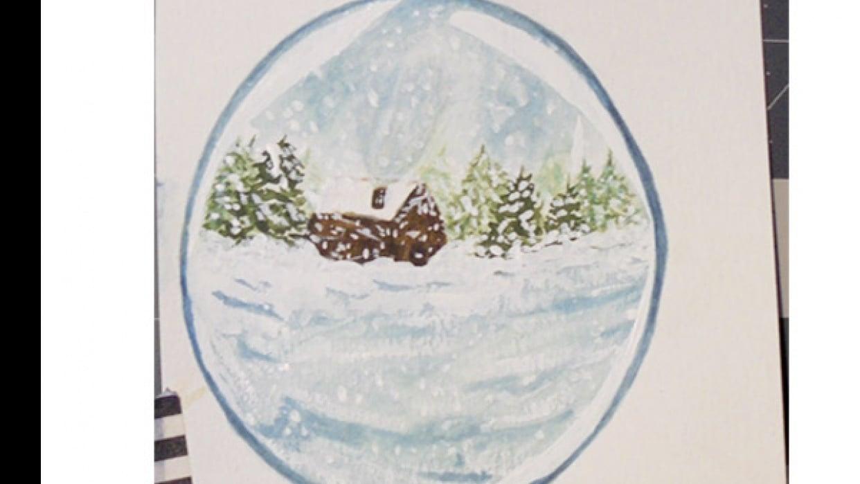 Snow Globe 1 - student project