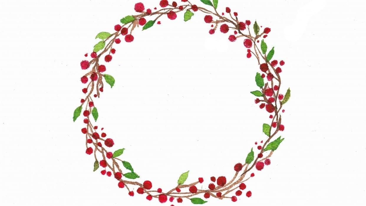 Wreath Practice - student project