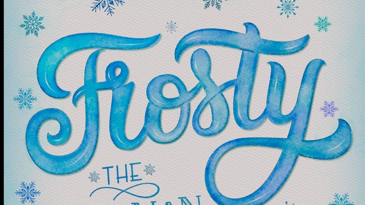 Frosty the snowman - student project