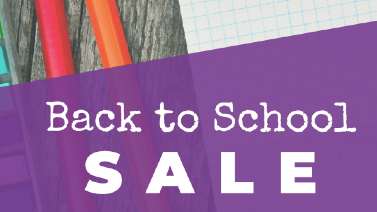Back to School Sale - student project