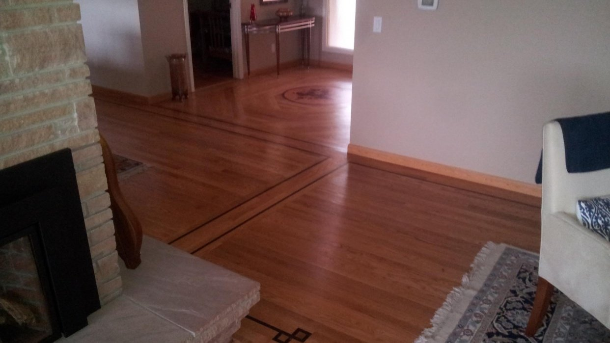 Learn how to Refinish Hardwood Floors - student project