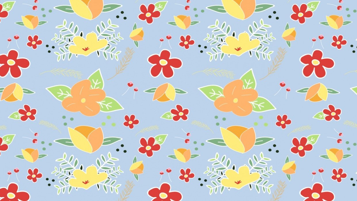 flower pattern 1 - student project