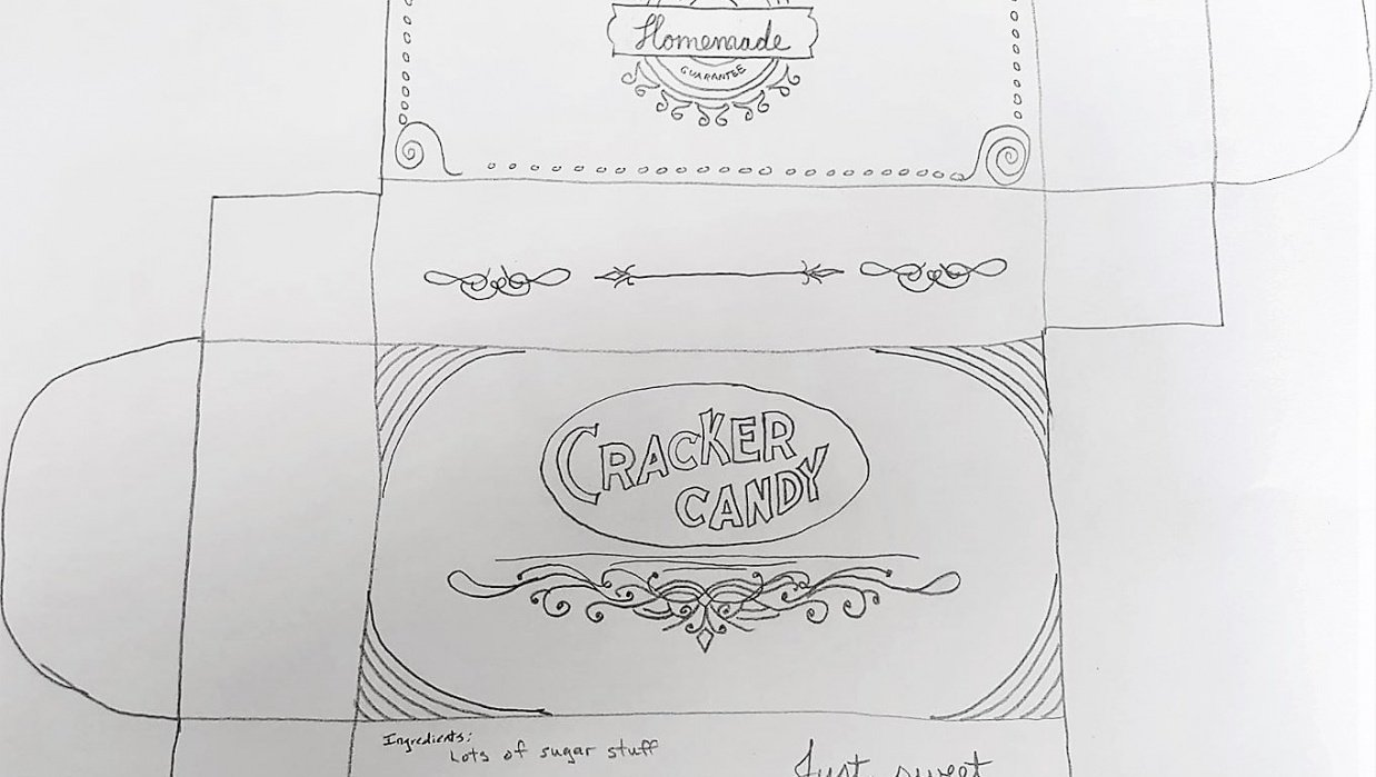 Cracker Candy - student project