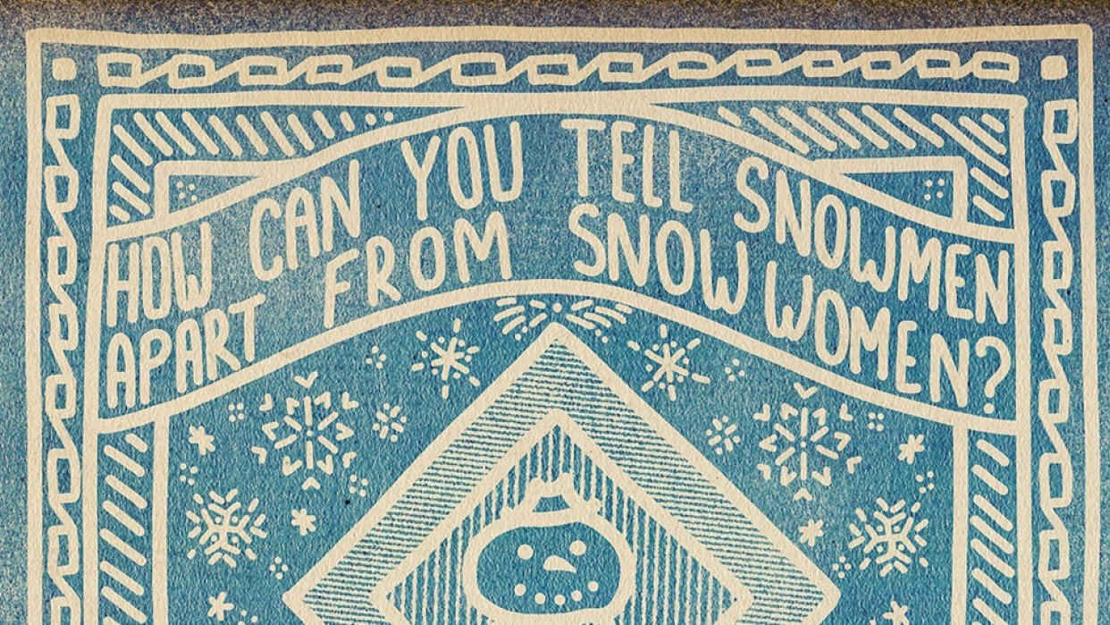 Just because I love snow... - student project