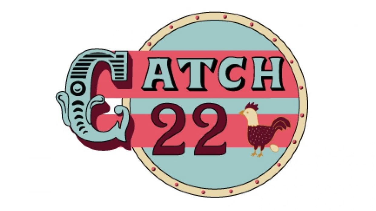 Catch 22 vintage design - student project