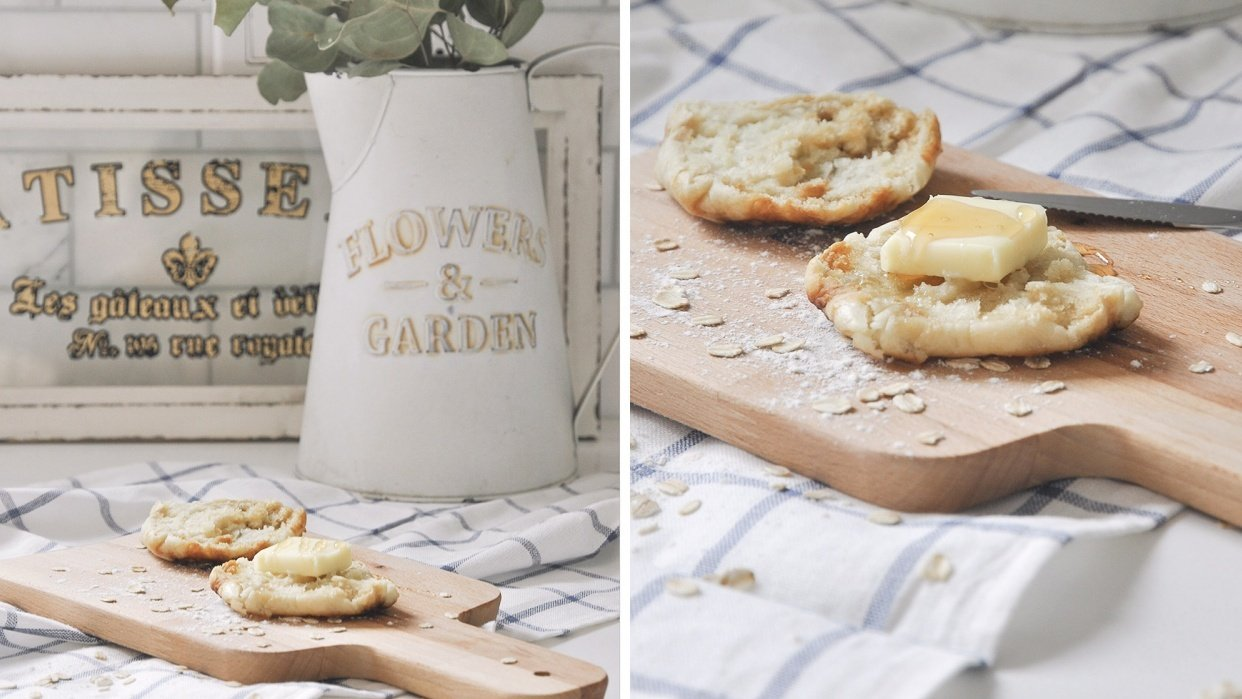 Homemade English Muffin Photoshoot - student project