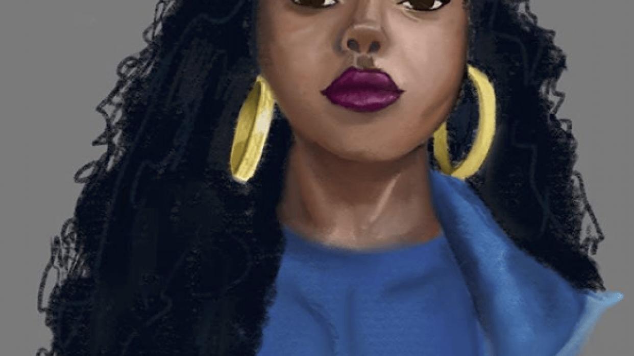 Portrait/light practice - student project