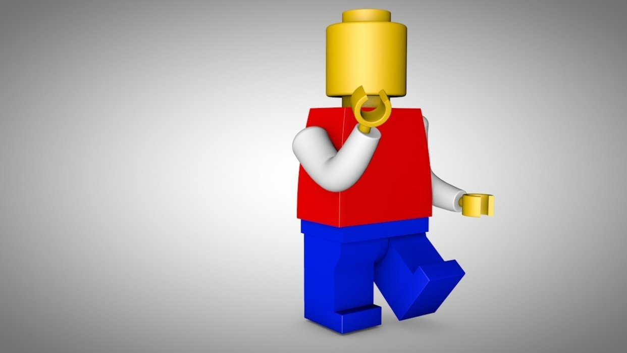 Lego Man - student project
