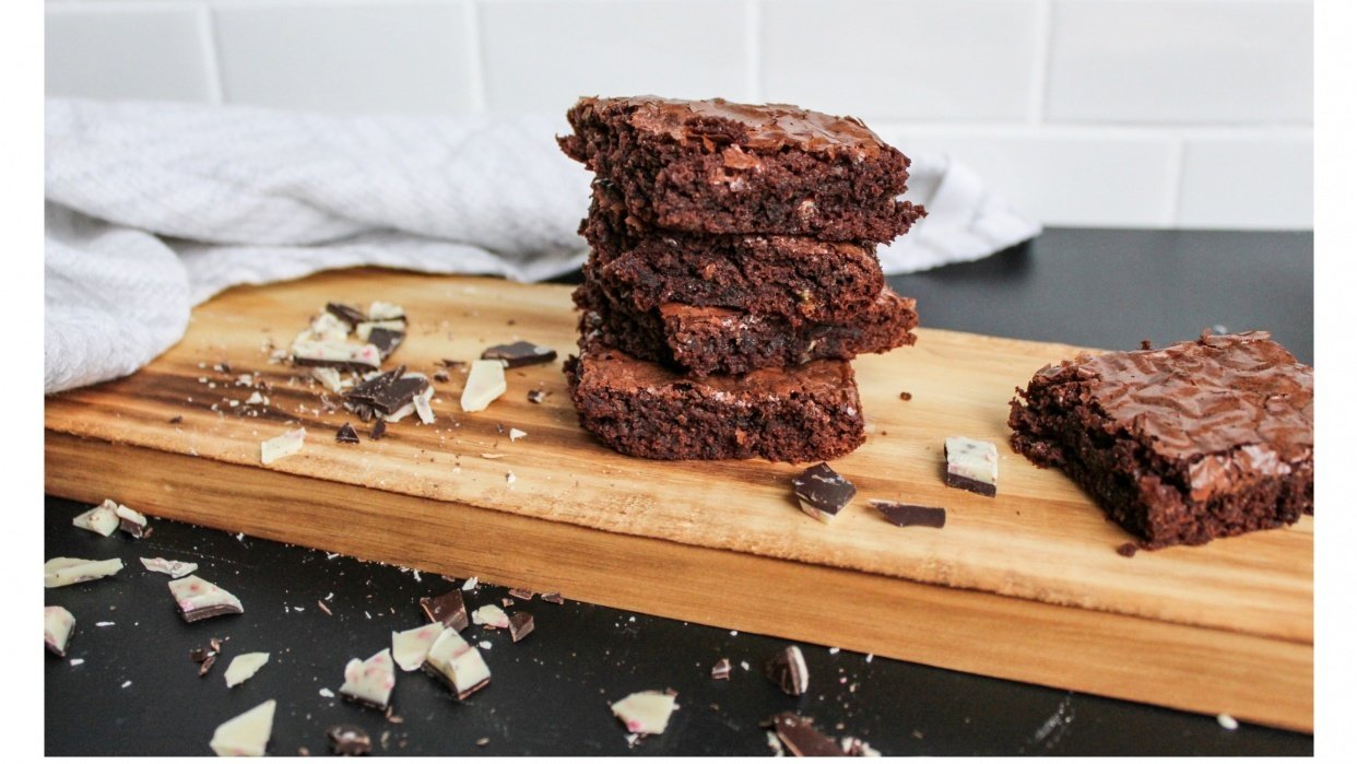 Light and Airy Brownies - student project