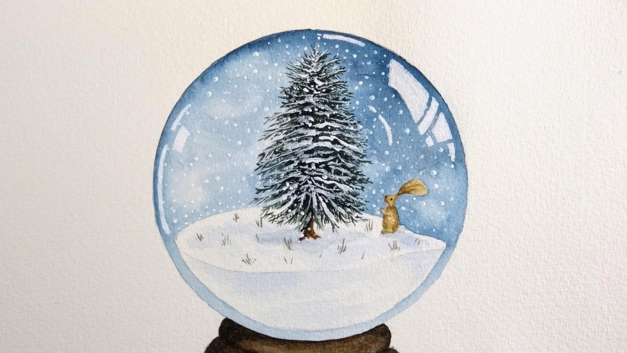Snow Globes! - student project