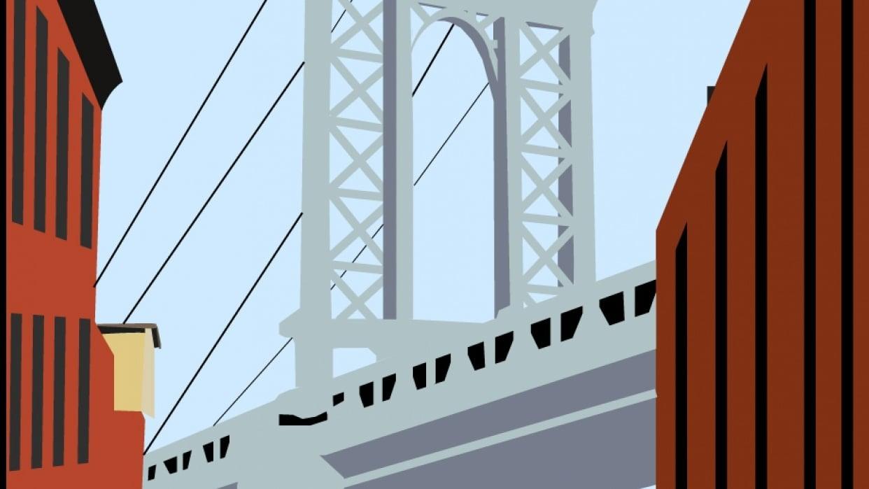 Manhattan bridge - student project