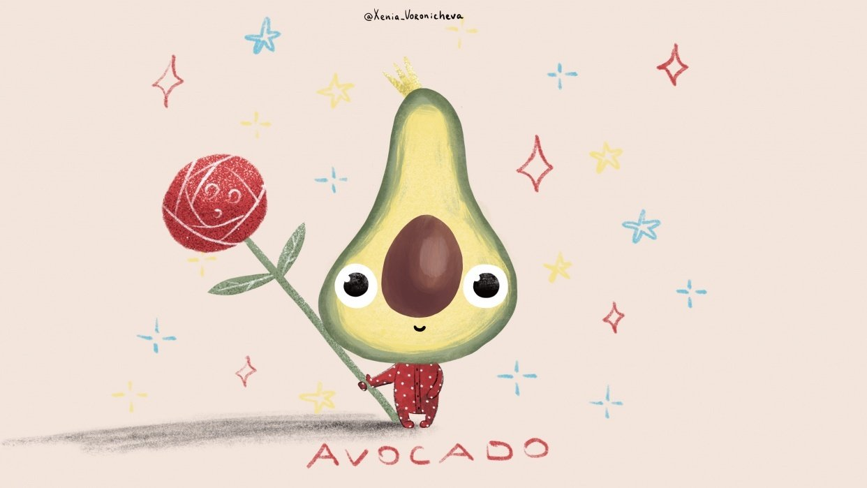 Avocado baby - student project