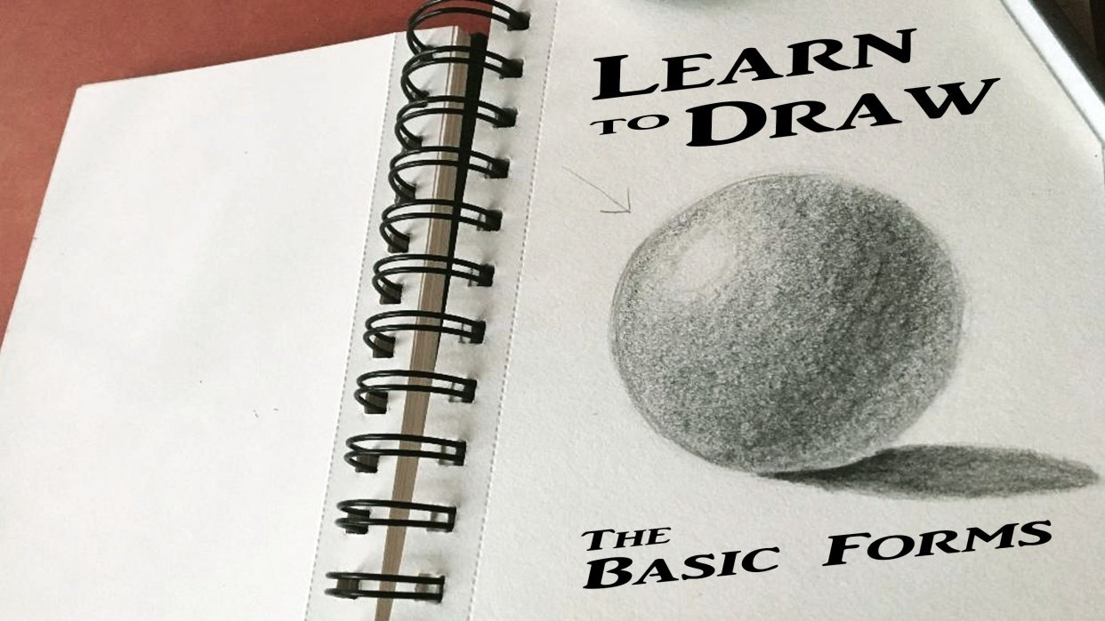 Learning to Draw - Basic Forms - student project