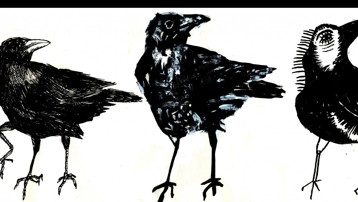Three crows - student project