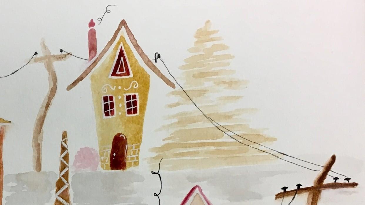 Gingerbread Neighborhood - student project