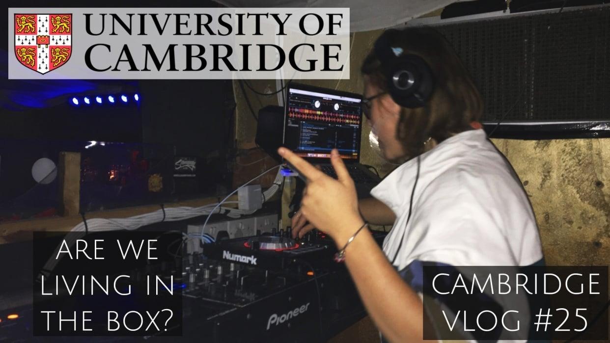 cambridge vlog - student project