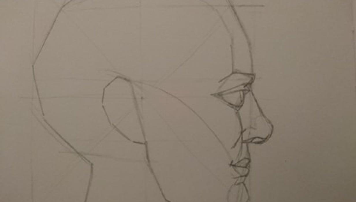 Head Profiles- Mark Hill - student project