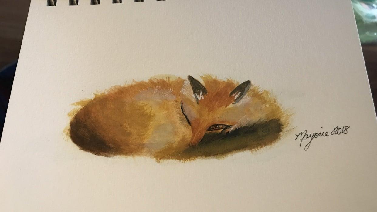 Sleeping Fox - student project