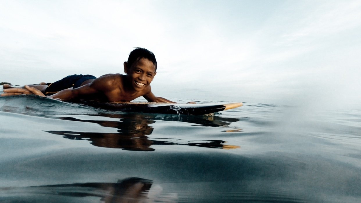When you live in a surf paradise without a surfboard - student project