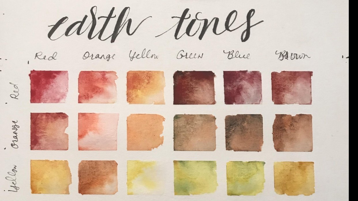 Earth Tones Course - student project