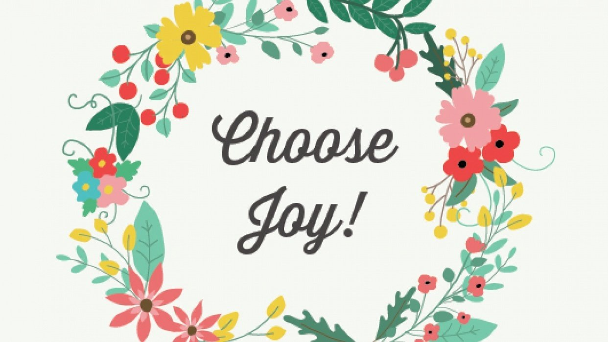 Choose Joy! - student project
