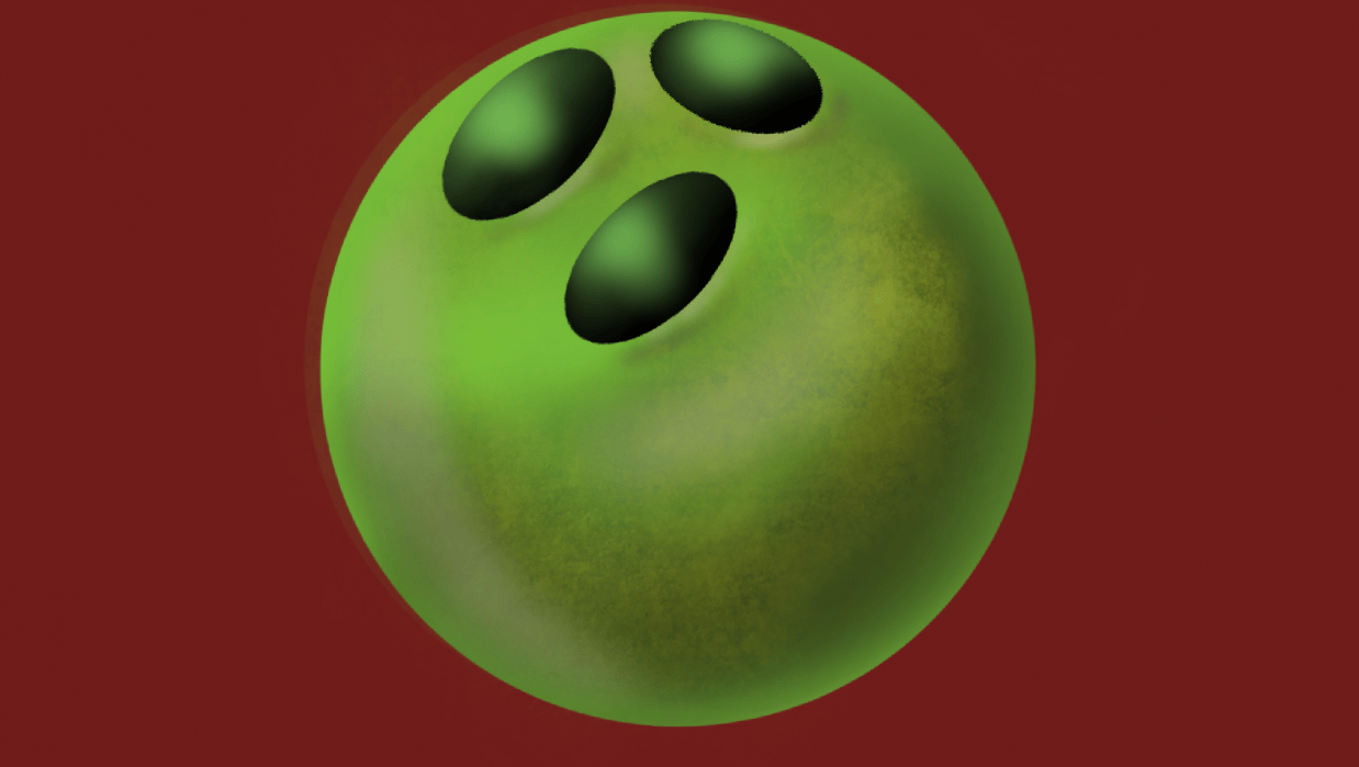 Bowling ball - student project