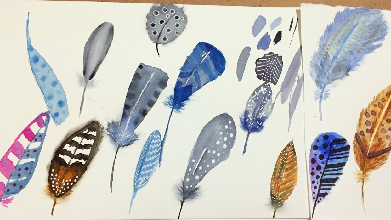 Feather Fun - student project
