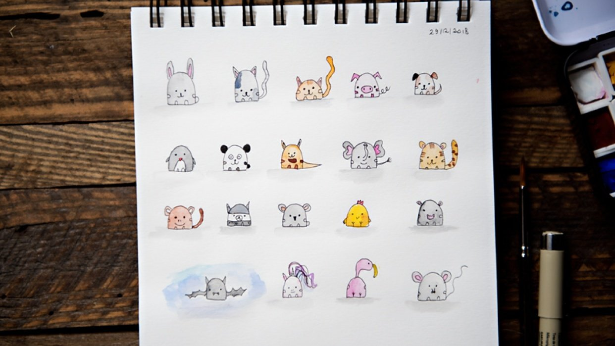 Cute animals :) - student project